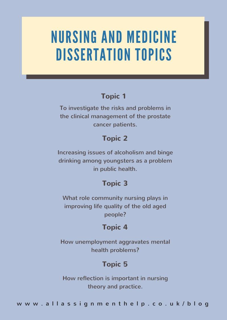 Nursing dissertations online