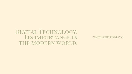 Importance of Digital Technology