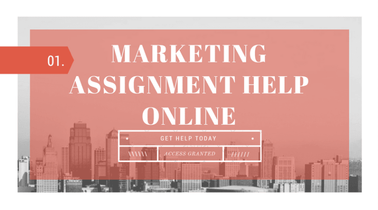 The best marketing assignment help service, provided by subject matter experts.