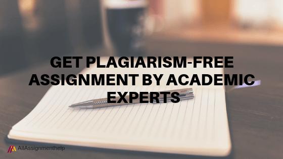 PLAGIARISM-FREE-ASSIGNMENT