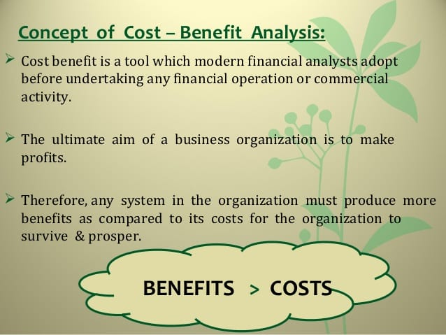 Cost Benefit Analysis Your Path Towards Success