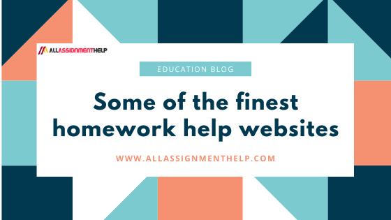 Best homework help sites
