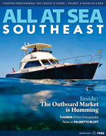 All At Sea - The Southeast's Waterfront Magazine - August 2014