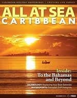All At Sea - The Caribbean's Waterfront Magazine - December 2014