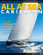 All At Sea - The Caribbean's Waterfront Magazine - January 2015