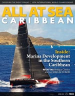 All At Sea - The Caribbean's Waterfront Magazine - June 2015