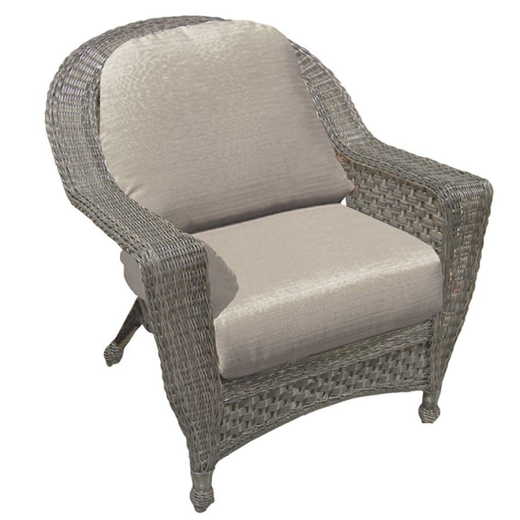 georgetown wicker lounge chair