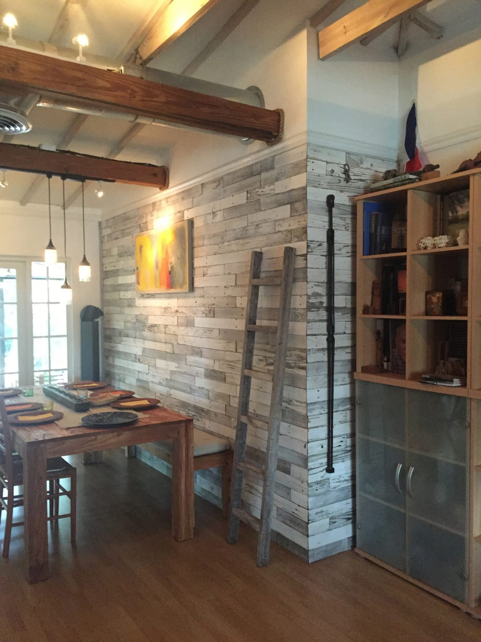 Reclaimed Wood Wall Paneling Diy Assorted 3 Inch Boards