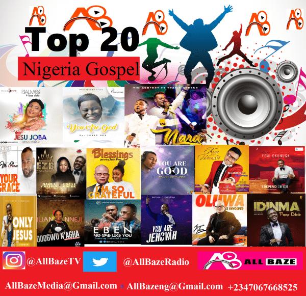 Top 20 Nigerian Gospel Songs 2018 [ Latest Gospel Songs 2018