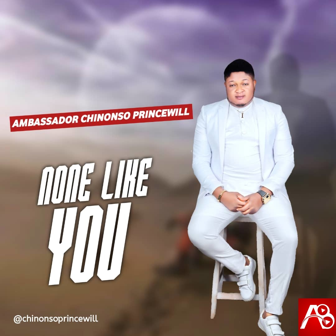Ambassador Chinonso Princewill - None Like You - Artwork