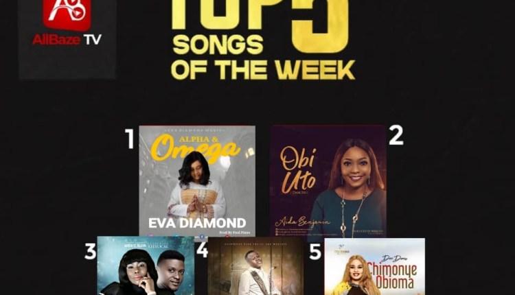 Top 5 Nigeria Gospel Songs Of The Week [Gospel Weekend Vibes]