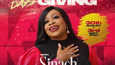 Sinach & Friends Preps Live Concert In Lagos