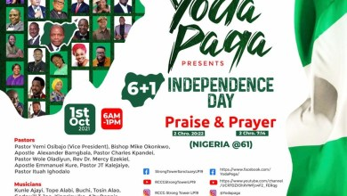 Osibanjo, Okonkwo, Tope Alabi, Mike Abdul, BJ Sax, Kunle Ajayi, others for Yoda Paga