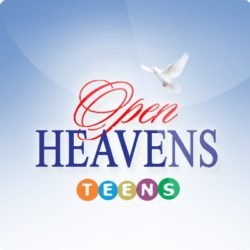 Teens Open Heavens 2 October 2018 – Giving Self for Others