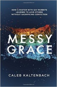Messy Grace book review - Kaltenbach, the author, has an interesting dilemma. His parents are both gay, and he has a newfound faith in Jesus Christ. I found it a really informative glimpse into his life and struggles with loving his parents/friends despite their lifestyles now that he had chosen a separate path.