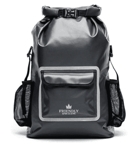 Friendly Swede Waterproof Backpack Dry Bag 33L with Laptop Pocket