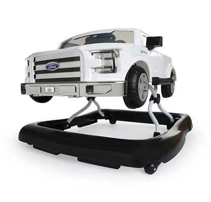 Bright Starts Ways to Play 4-in-1 Walker - Ford F-150, White big