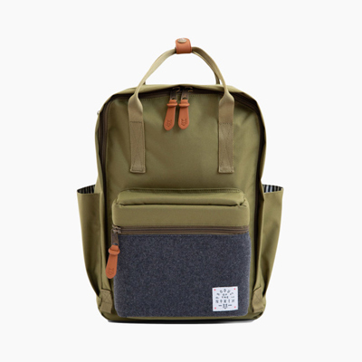 Product of the North x Babylist Sustainable Elkin Diaper Backpack big