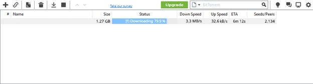 Torlock Download Speed