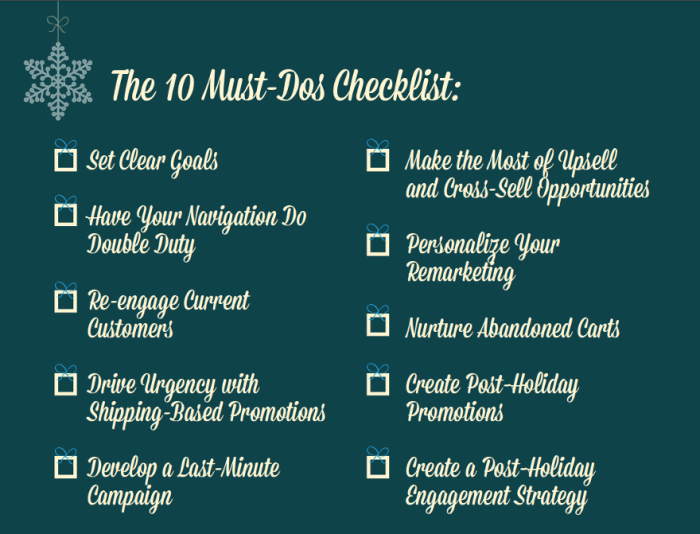 10 Must Dos Before Cyber Monday Hubspot Checklist
