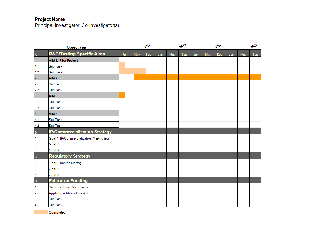 25/08/2021· this template is mainly used for complex projects by converting the timeline and tasks in the horizontal bar chart, indicating how much task has been completed, it helps the manager in keeping the tasks on track so that the work may finish in time. Project Gantt Chart In Excel Templates At Allbusinesstemplates Com