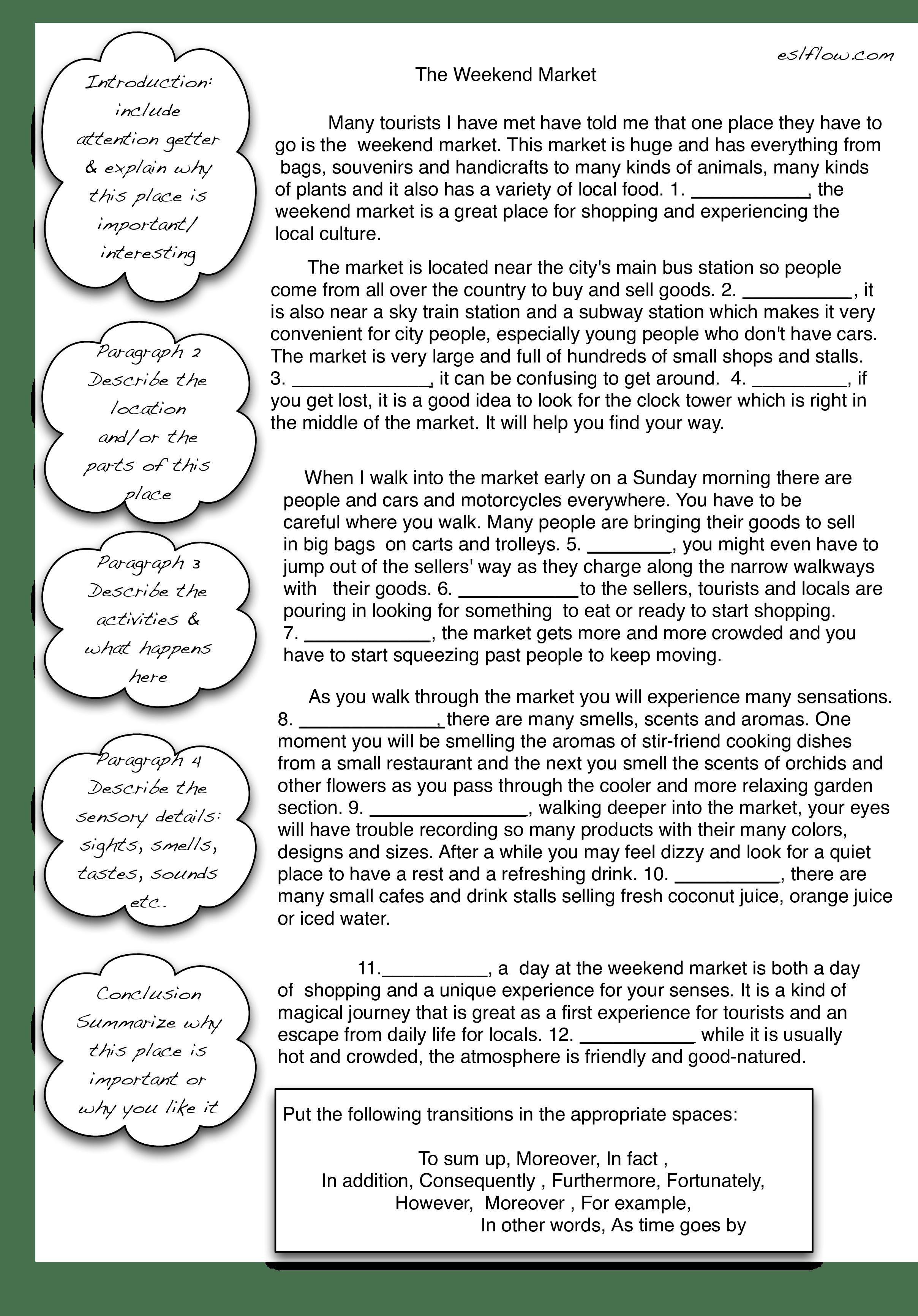 Sample Short Descriptive Essay