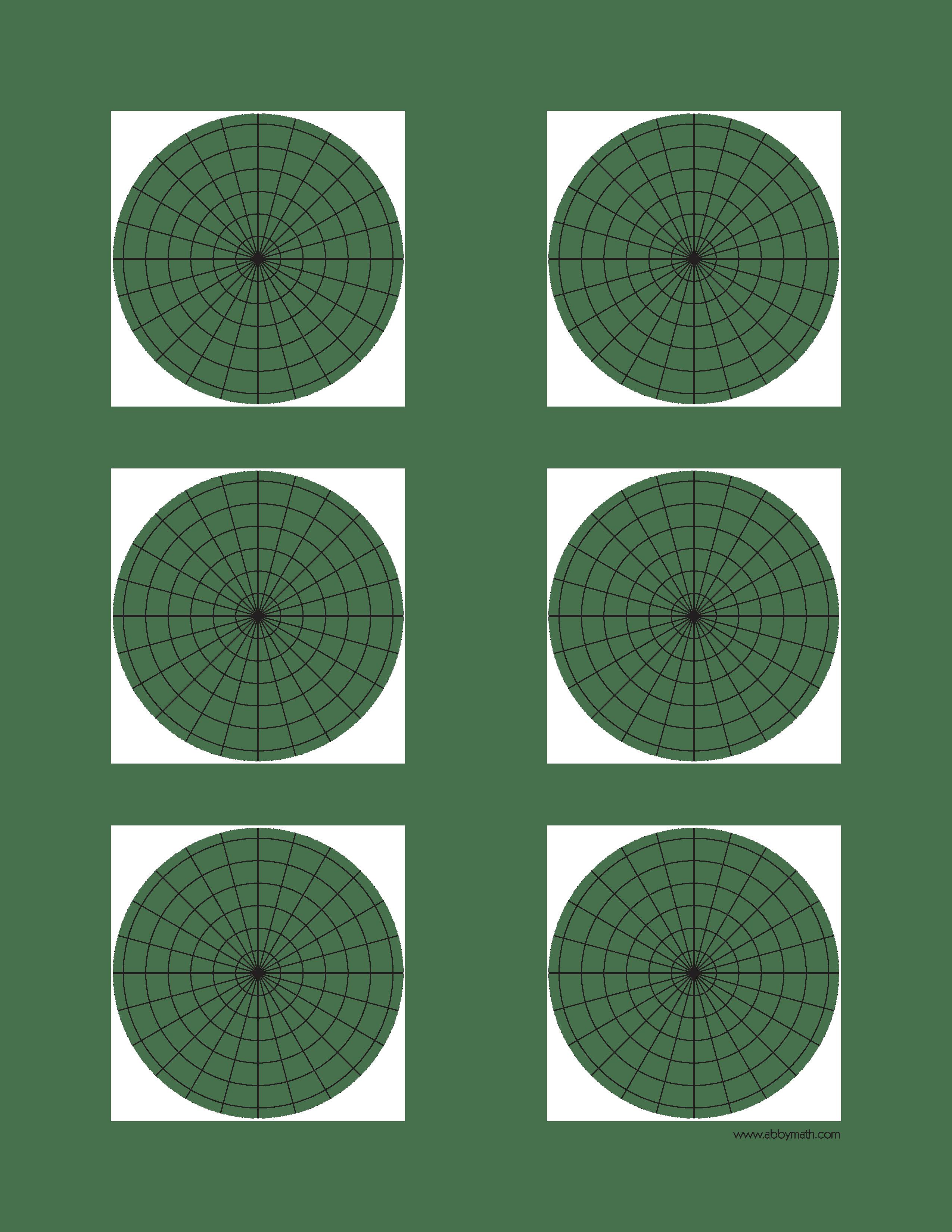 Polar Plane Graph Paper