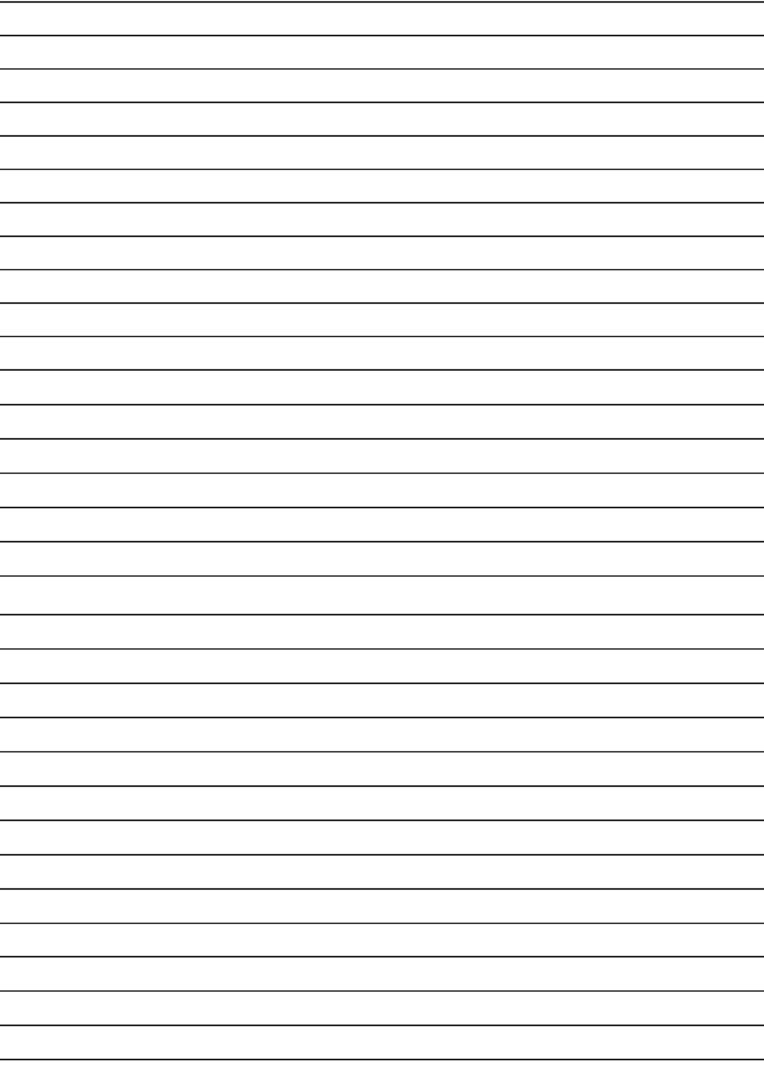 A5 Lined Paper