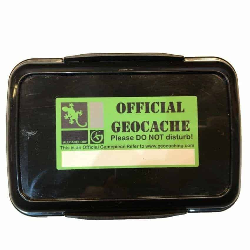 Large-Waterproof-Double-Clip-Lock-Black-Geocache-Container-Twin-Compartments-142125870220