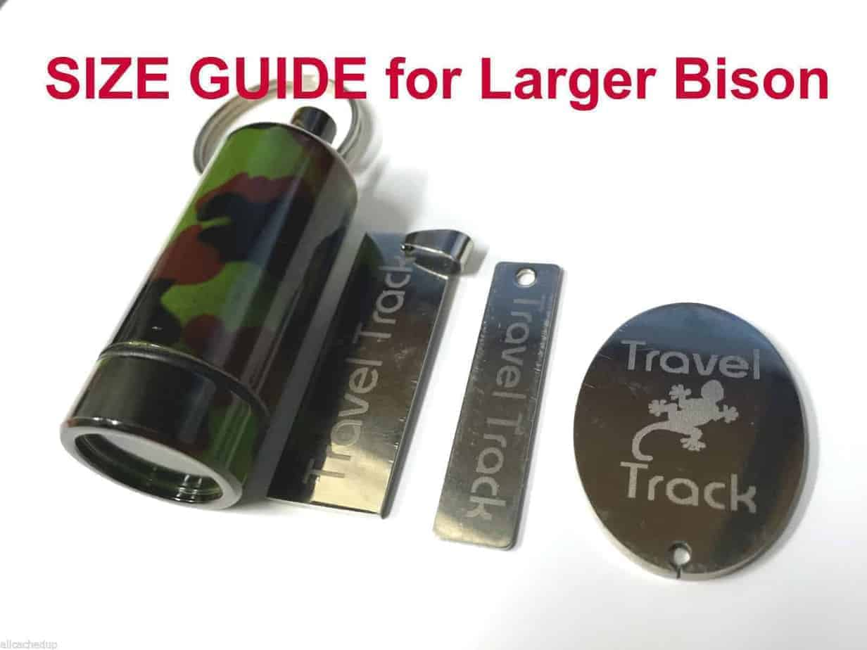 Tiny Micro Trackable Tag For Geocaching Travel Track Tag