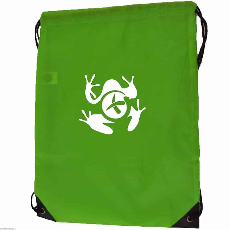 Geocache Drawstring Bag Sport Gymsac Swim PE Backpack with Geofrog ...