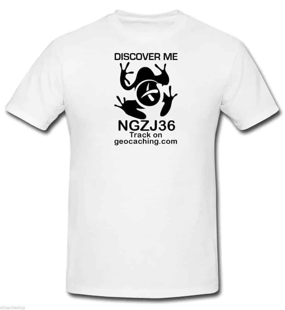 Geocache t shirt geocaching trackable white discover me for I like insects shirt