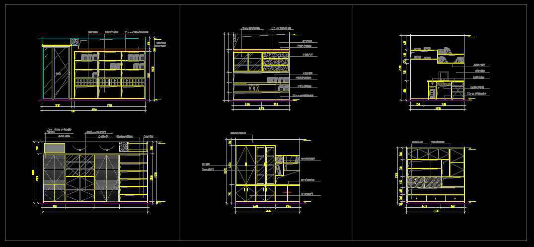 Study room design drawings v 2 free cad blocks Room design software free download