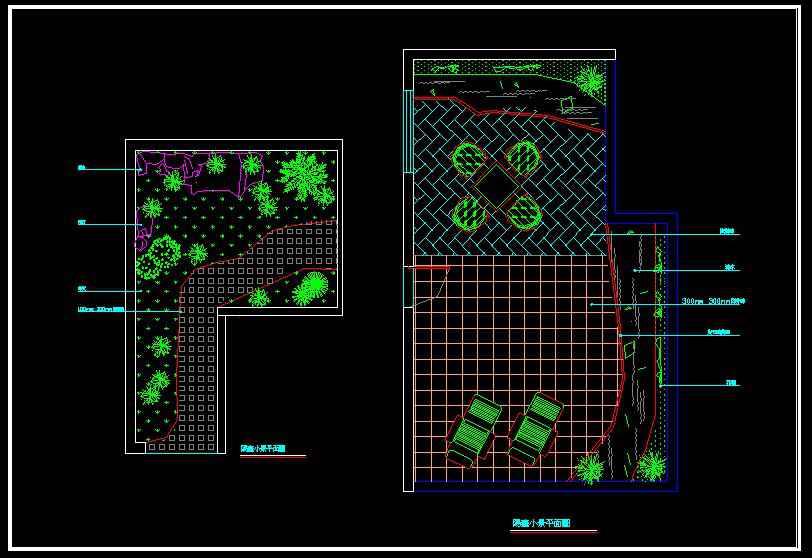 Landscape Design】★ Free Autocad Blocks Amp Drawings