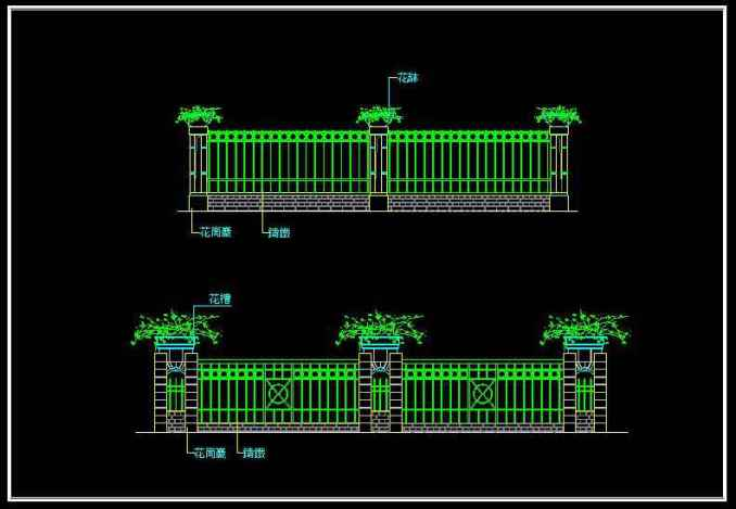 p44wrought-iron-railing-fence-design06