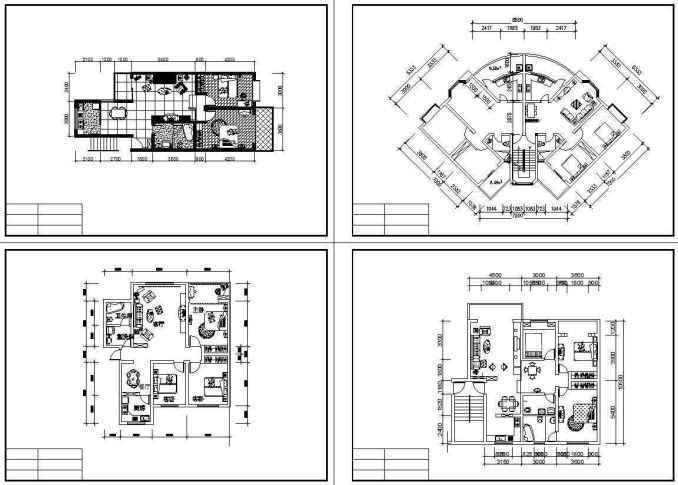 Residential construction drawings bundle free cad blocks for Residential building drawings download