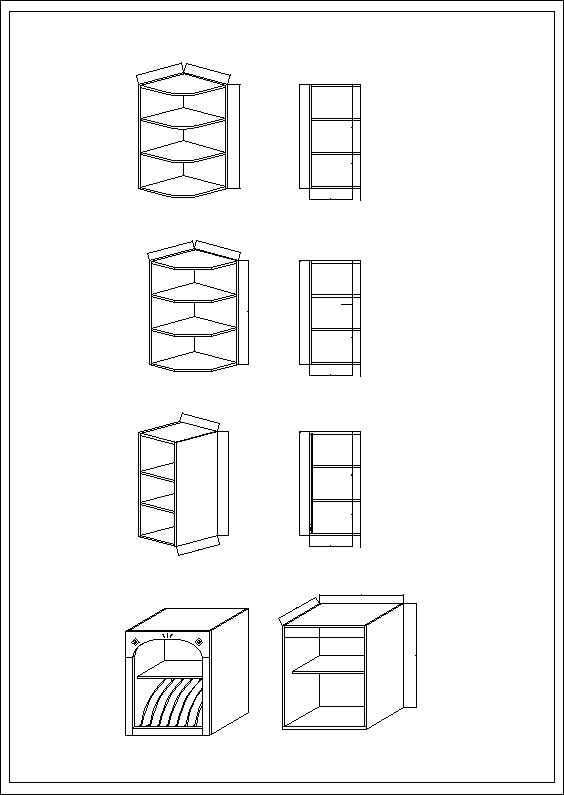 Cabinets cad 3d free cad blocks drawings download center for Furniture drawing software free