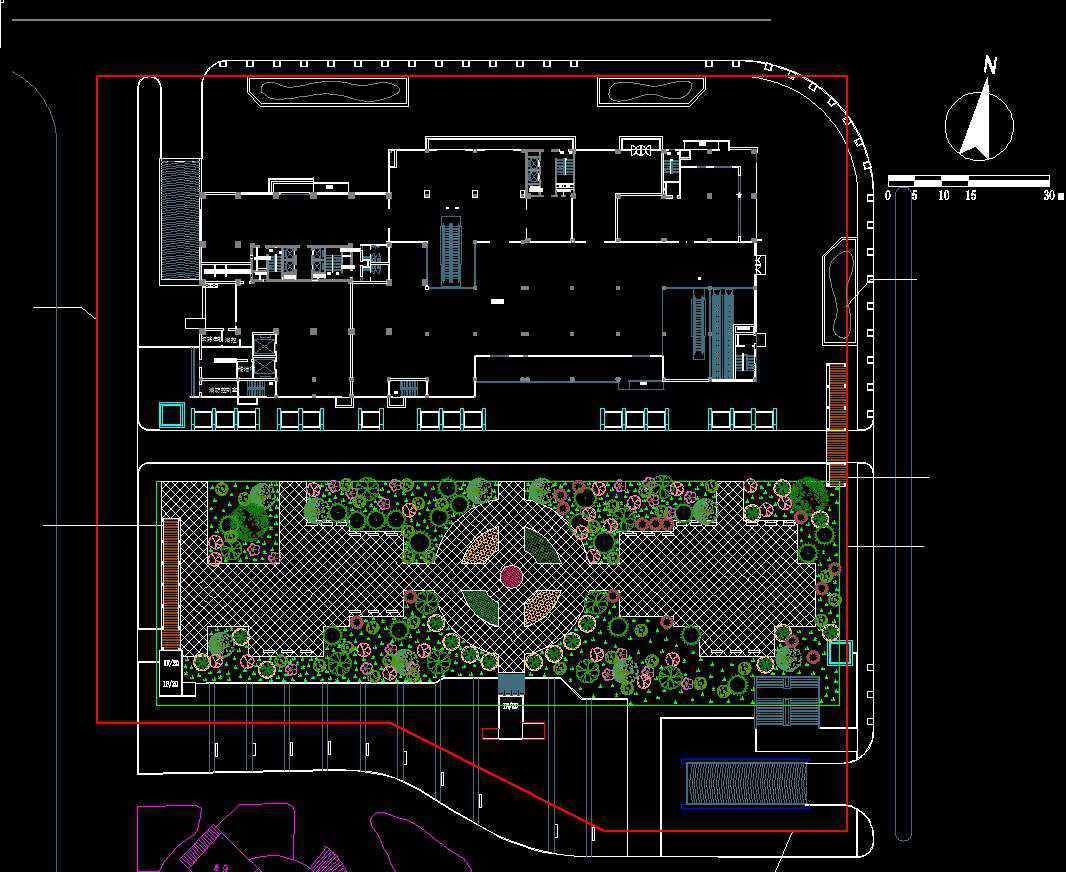Residential Landscape Design 15 - Free Autocad Blocks ...