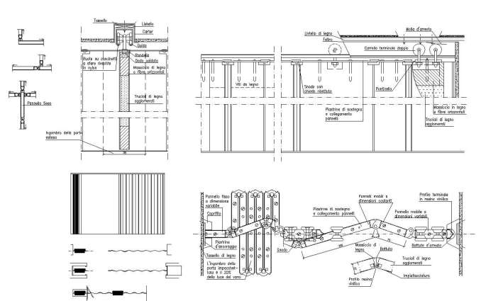 Free Folding Door Details | Free Cad Blocks & Drawings Download Center