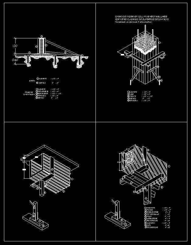 Sliderail system details free cad blocks drawings for Free online cad system
