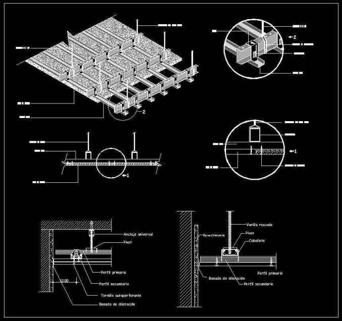 Free Ceiling Details 1 Free Cad Blocks Amp Drawings