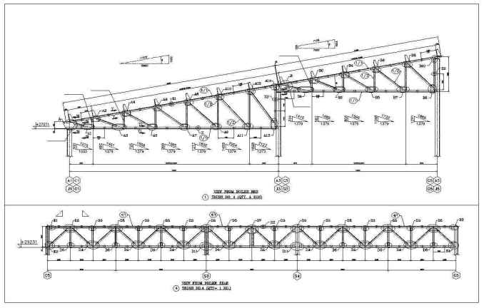 Truss Structure Details 7 Free Cad Blocks Amp Drawings