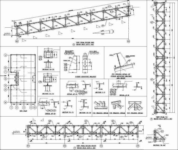 Truss Structure Details 7