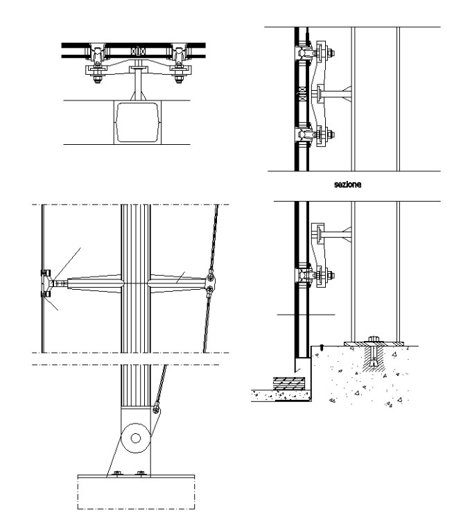 Kimmel Center Glass Curtain Wall Detail : Curtain wall cad block free gopelling