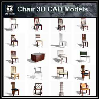 Chair 3D | Free Cad Blocks & Drawings Download Center