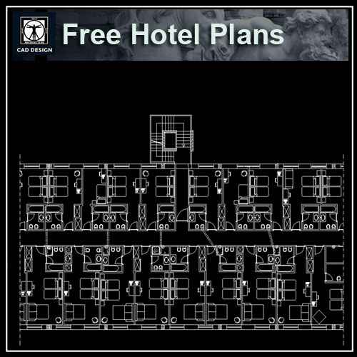 Free Hotel Plans – Free Autocad Blocks & Drawings Download Center