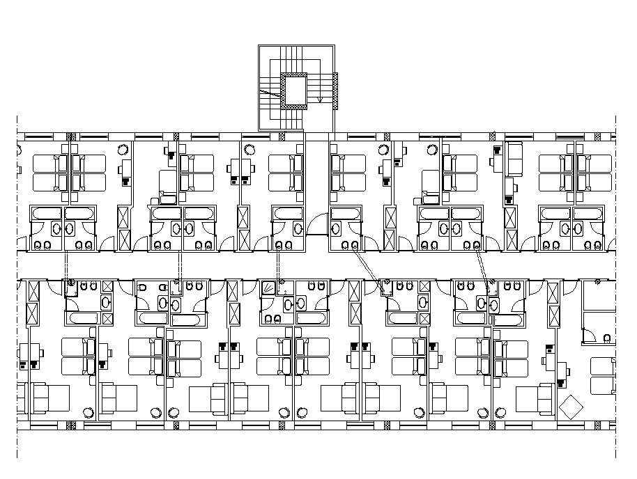 Free Hotel Plans Free Autocad Blocks Drawings Download Center