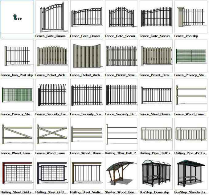 Sketchup built constructions 3d models download free cad Cad models