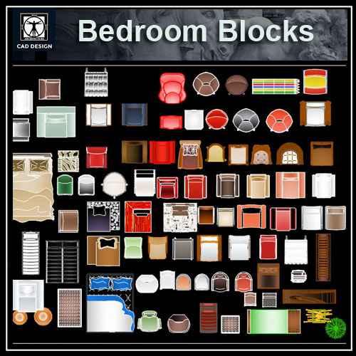 Free CAD Color Blocks – Free Autocad Blocks & Drawings