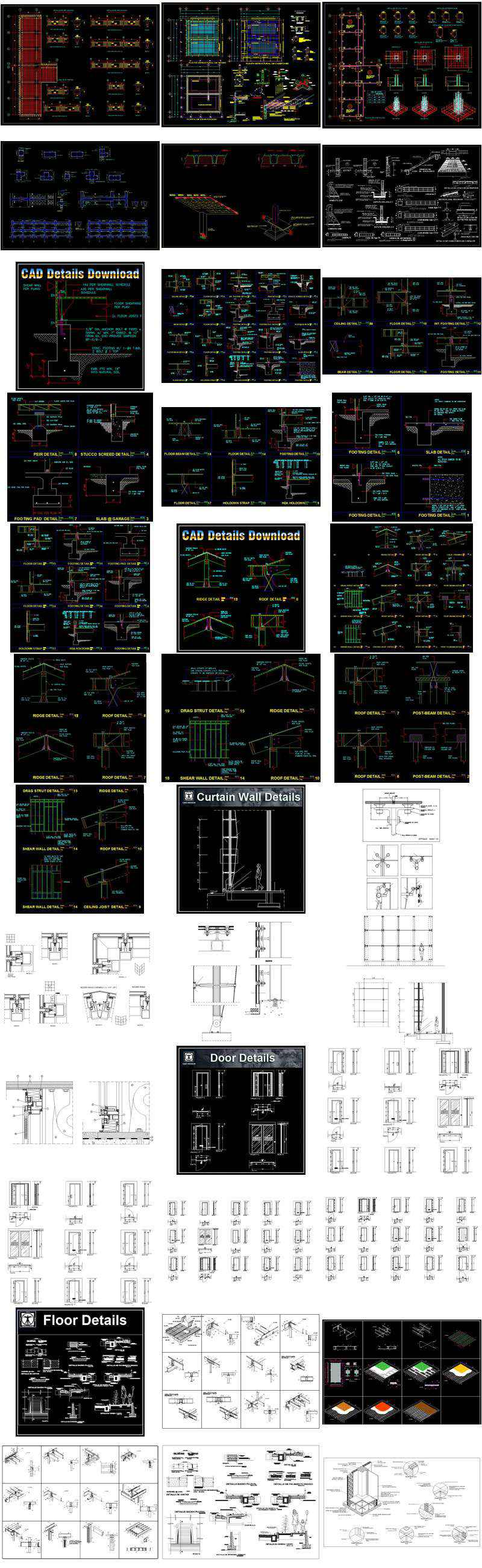 All 40 Architecture Cad Details Collections Total 40